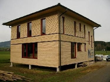 2  Szalma bála passzív ház St. Lorenz am Mondsee / Felső-Ausztria