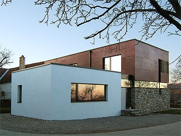 Niedrigstenergiehaus in Dross, NÖ