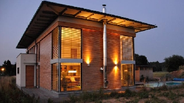 niedrigenergiehaus in heidenreichstein strohballenbau. Black Bedroom Furniture Sets. Home Design Ideas