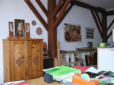 Revitalizációja a pajta szalma bála iroda