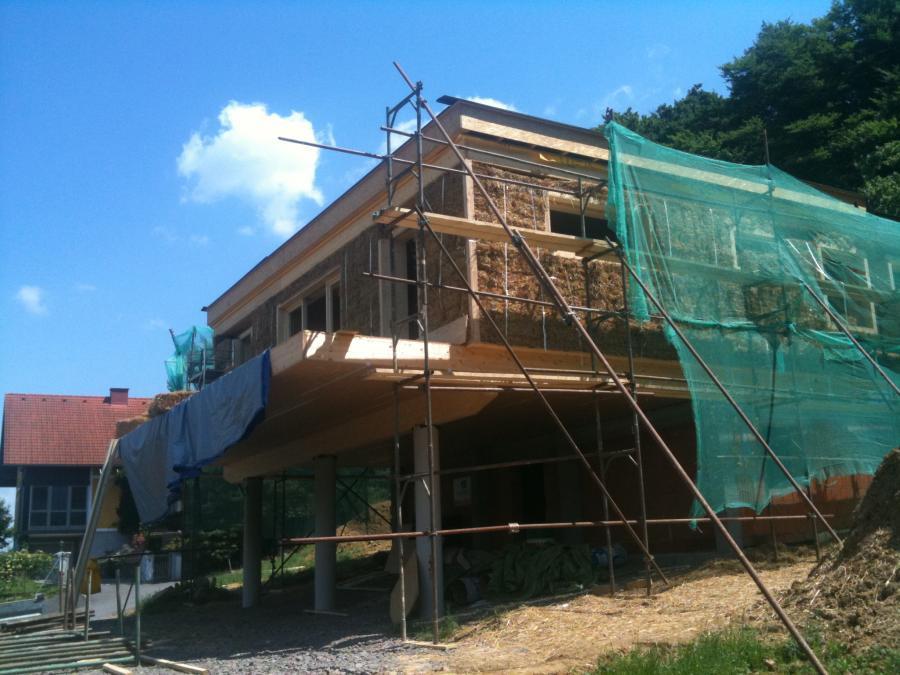 Fenster Bad Gleichenberg : Strohballenbau und Baubiologie  Projekt