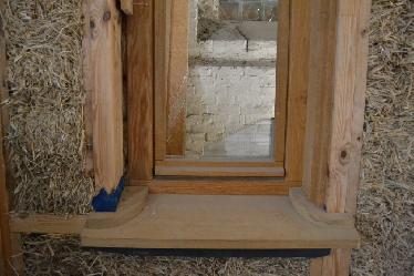 Fensterrahmen-Überdämmung a la FASBA: die Unterkonstruktion