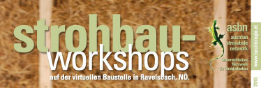 Strohballenbau-Workshops