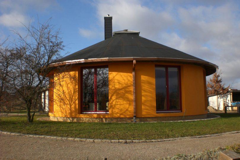 Strohballen Haus