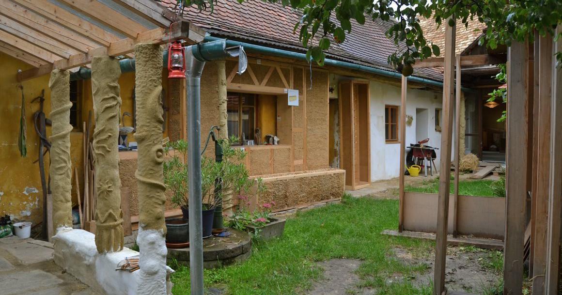 Musterelemente auf der Virtuellen Baustelle in Ravelsbach