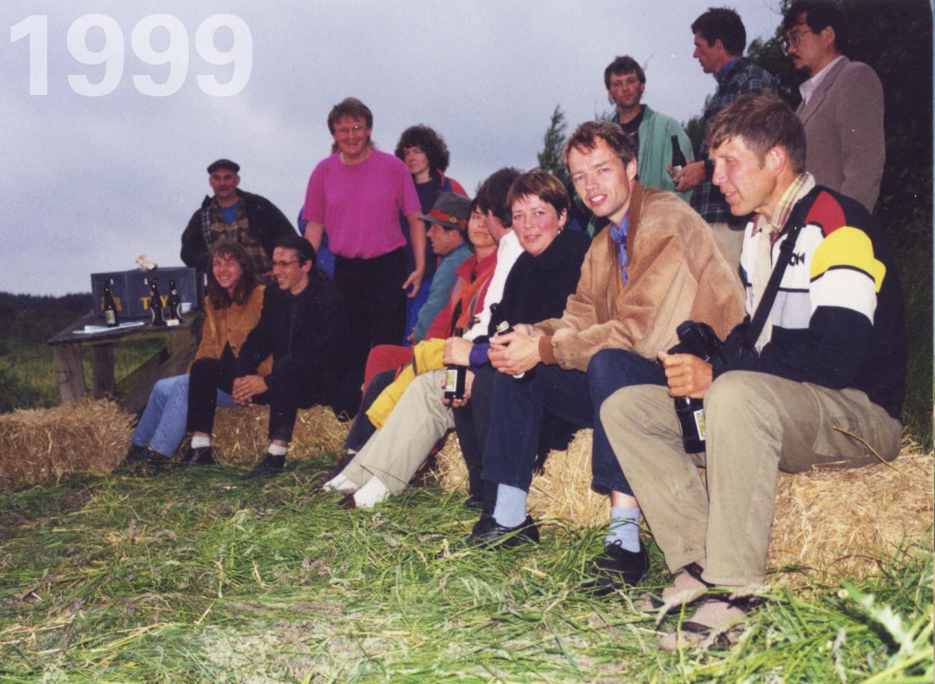 Gründung des asbn Netzwerks beim 2. ESBG in Dänemark (im Bild hinten sitzend: Herbert & Astrid Gruber)