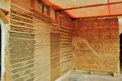 wrapping - thermische sanierung mit stroh - thermal external insulation with straw