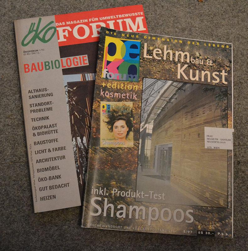 ÖkoForum, Herbert Gruber ist Herausgeber und Grafiker