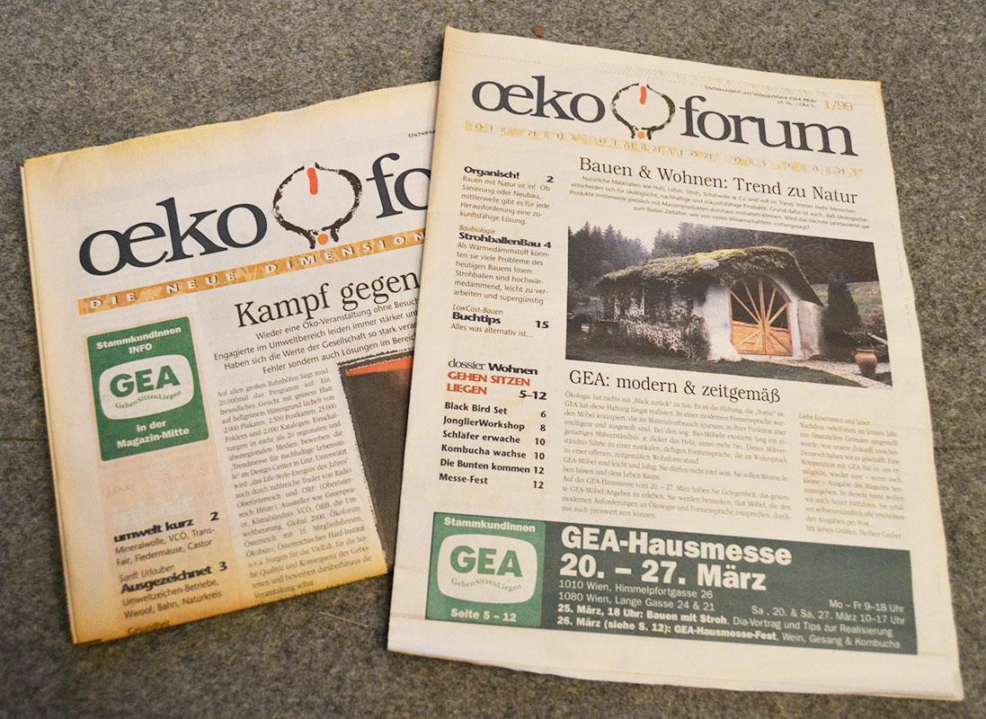 ÖkoForum berichtet als erstes Magazinin Österreich über den Strohballenbau