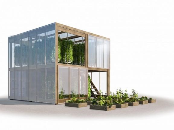 Hydroponischer Garten Ikea Style Strohballenbau