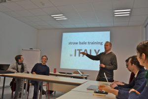 Stefano Soldati presenting the preparations for ESBG 2017 in Italy
