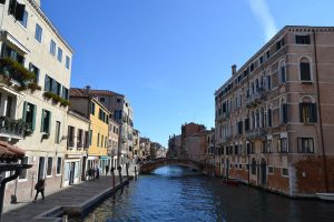 A beautiful sunny day in Venice