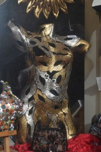 Typical masks in Venice...