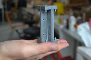 Vivihouse - Stahlknoten-Modell für den Skelettbau