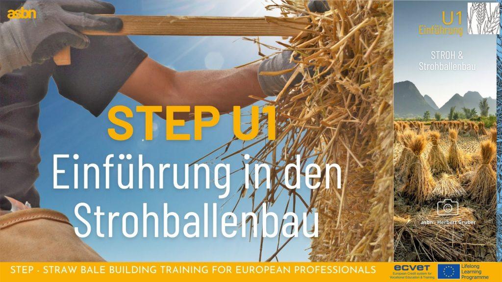 STEP 1 - Einführung in den Strohballenbau