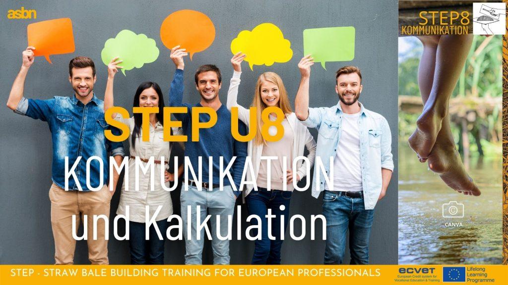 STEP 8 - Kommunikation und Kalkulation