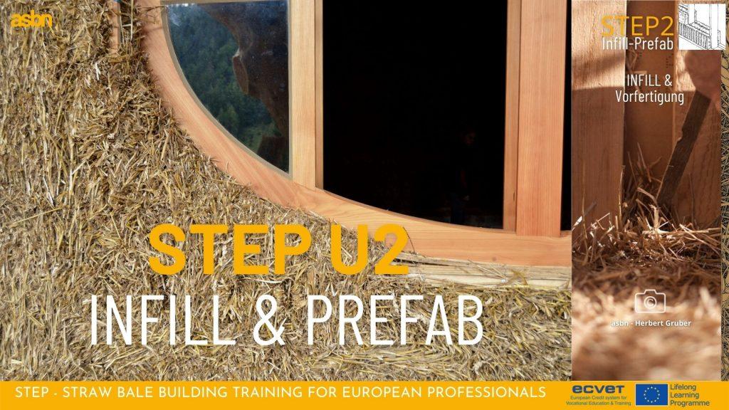 STEP 2 - Strohballen-INFILL-Holzständerkonstruktionen, CUT, GREB