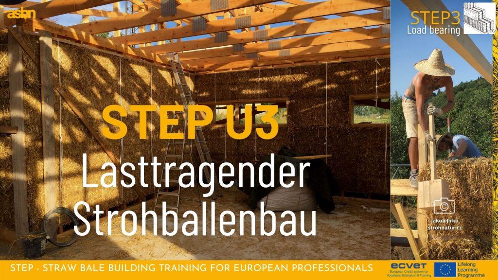 STEP 3 - Lasttragender Strohballenbau