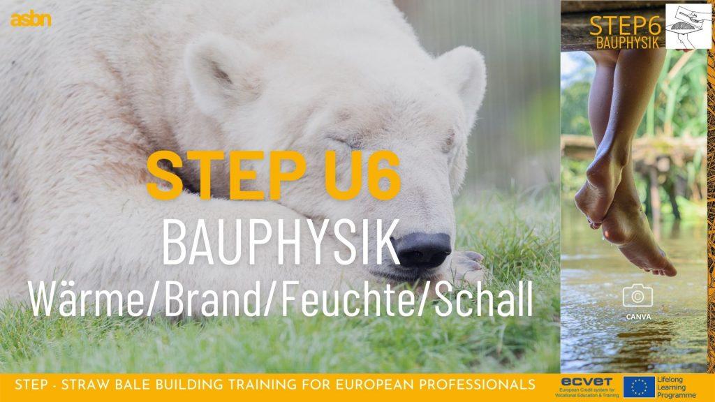 STEP 6 - Bauphysik im Strohballenbau